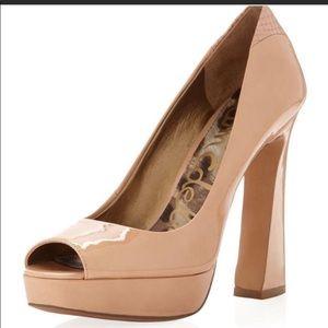 Sam Edelman Black Patent Leather Heels
